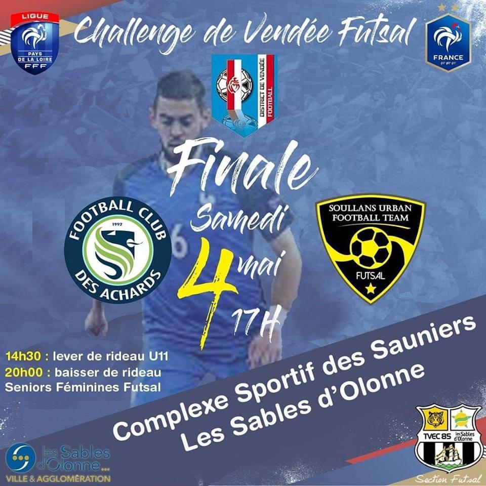 Finale du Challenge de Vendée Futsal