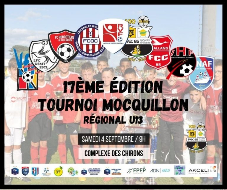 Tournoi Mocquillon 2021